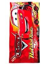 Cars Printed Terry Bath Towel, 20X40 (Red)