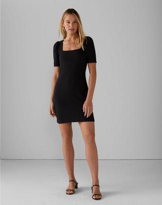 Club Monaco Puff Sleeve Mini Dress