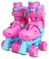 Zinc Adjustable Quad Skates - Pink.