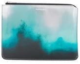 Acne Studios tie-dye effect zipped wallet