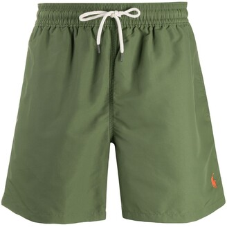Polo Ralph Lauren Logo Embroidered Swimming Shorts