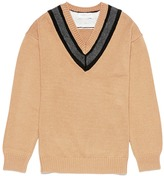 TOMORROWLAND Wool-cashmere V-neck sweater