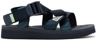 Suicoke Navy Chin2-CAD Sandals