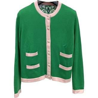Tory Burch Green Wool Knitwear