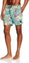 O'Neill PM Thirst For Surf Floral Print Men's Swim Shorts, Multi