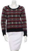 Sandro Patterned Knit Sweater