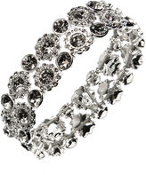 Nine West Crystal Stretch Bracelet