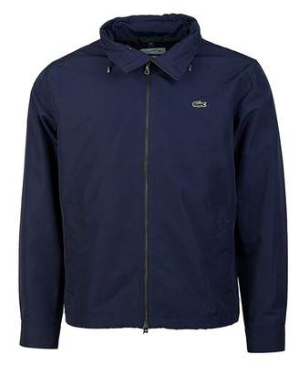 Lacoste Zip Through Nylon Jacket Colour: NAVY, Size: SMALL