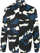 Valentino camouflage shirt - men - Cotton - 38