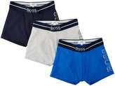 HUGO BOSS Leisure Set Of 3 Boxers (Kid) - Bleu Cargo - 12A