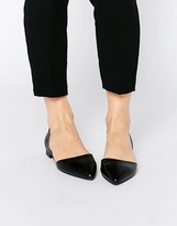 London Rebel Two Part Flat Shoes