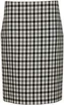 Balenciaga Checkered Skirt