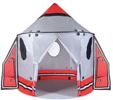 Pacific Play Tents Classic Spaceship Peach Skin Pavilion Tent with Wings