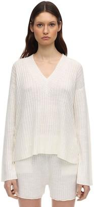 Falke Linen & Silk Blend Milano Knit Sweater