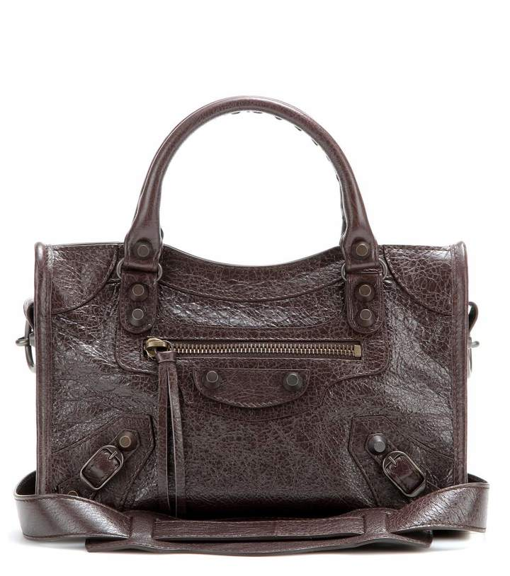 Balenciaga Classic Mini City leather shoulder bag