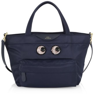 Anya Hindmarch Mini Eyes Nylon Tote