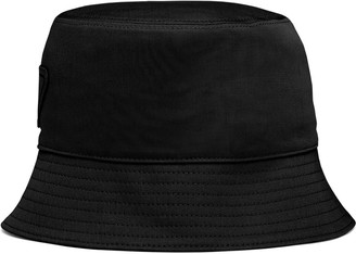 Prada Logo Patch Bucket Hat