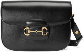 Gucci 1955 Horsebit python shoulder bag