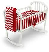 Babydoll Baby Doll Chevron Dot Cradle Bedding Set