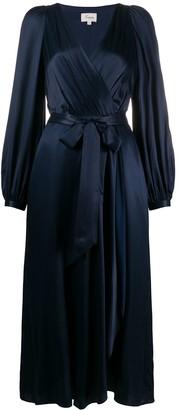 Temperley London Birdie V-neck wrap dress