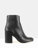 betts Charlotte Block Heel Ankle Boots