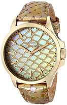 """Juicy Couture Women's 1901162 """"Jetsetter"""" Analog-Display Quartz Gold Watch"""