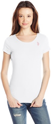 U.S. Polo Assn. Women's Scoop Neck T-Shirt