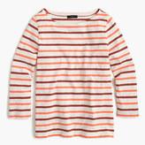 J.Crew Boatneck T-shirt in multicolor stripe