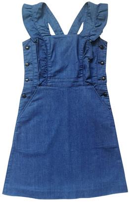 Cacharel Blue Cotton Dress for Women