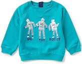 Joules Baby/Little Boys 12 Months-3T Robot Screenprint Sweatshirt