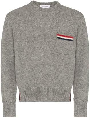 Thom Browne stripe-detail jumper
