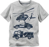Carter's Toddler Boys Short Sleeve Rescue Car T-Shirt