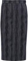 Vivienne Westwood Cotton-blend jacquard midi skirt