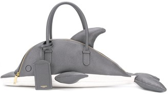 Thom Browne Dolphin Tote Bag