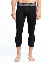"""Old Navy Go-Dry Shade 3/4 Base-Layer Tights for Men (20 1/2"""")"""