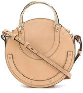 Chloé rounded Pixie bag with metal handle