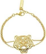 Kenzo Gold Plated Tiger Bracelet