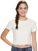 American Rag Juniors' Back Cutout Tee