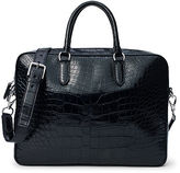 Ralph Lauren Alligator Commuter Bag