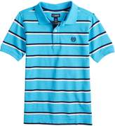 Chaps Boys 4-20 Clark Striped Polo