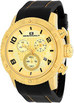 Oceanaut Mens Black Strap Watch-Oc3123r