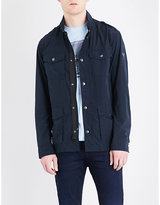 Armani Jeans Pocket-detailed Shell Field Jacket