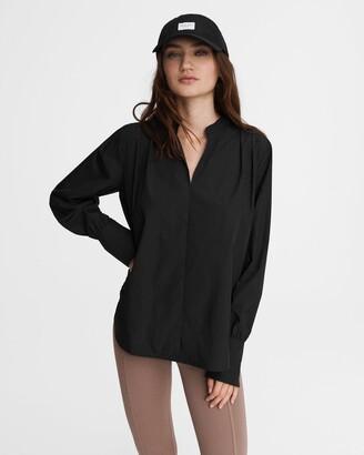 Carly poplin cotton blouse