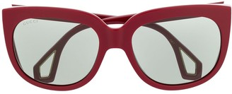 Gucci Double-Framed Sunglasses