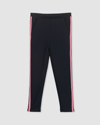 Milky Side Stripe Pants - Kids