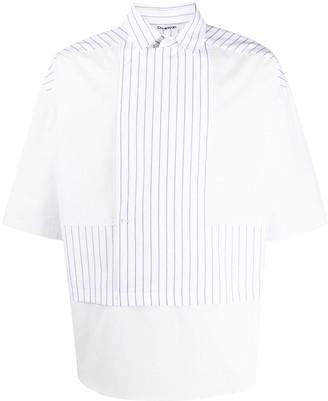 Chalayan Striped Double-Layer Shirt