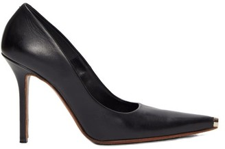 Vetements Toe-cap Leather Pumps - Black