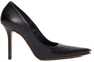 Vetements Toe-cap Leather Pumps - Womens - Black