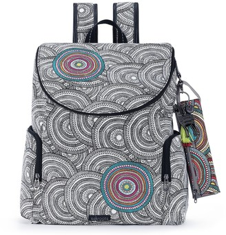 The Sak Sakroots Pacific Backpack with Removable PencilCase