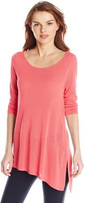 Colourworks Colour Works Women's Asymmetric Hem Pullover Sweater